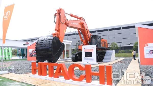 日立建机EX1200超大型液压挖掘机