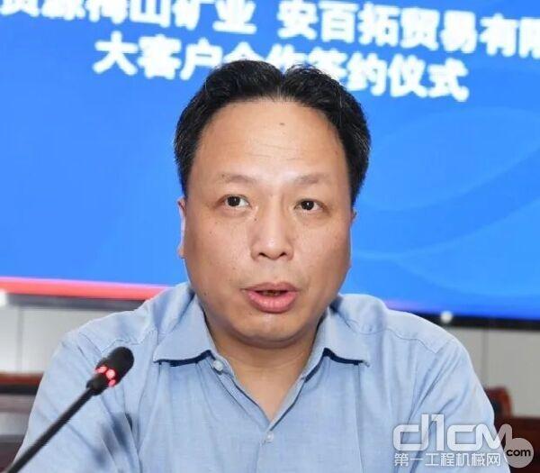 安百拓大中华区客户中心总经理卫武贤