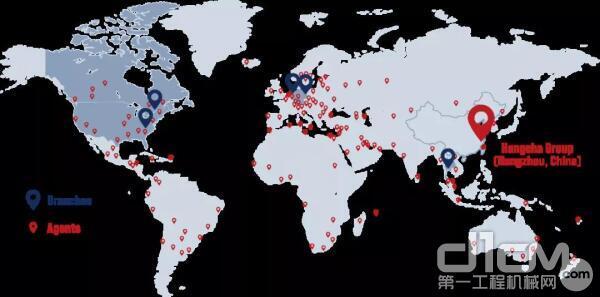国际服务网络