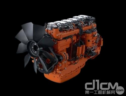 CLG965EHD搭载斯堪尼亚瑞典原装13升工业发动机