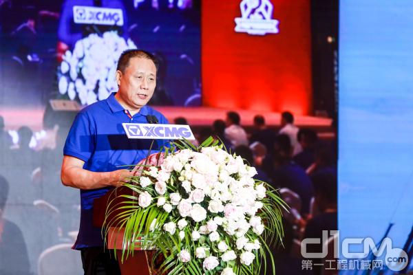 徐工起重大客户同盟俱乐部秘书长张汉徐阐释同盟俱乐部内涵