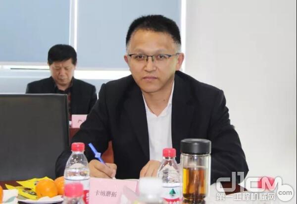 卡纳磨拓(中国)投资有限公司市场与营业本部部长郇恩年