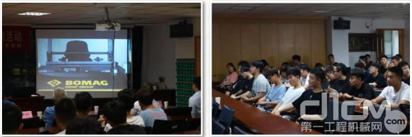 宝马格受邀去常州信息学院做《工程机械领域人才需求现状及技术发展趋势分析》系列讲座