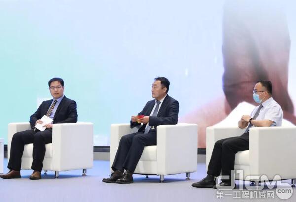 中为美卓奥图泰大中华区总裁梁晓峰先生