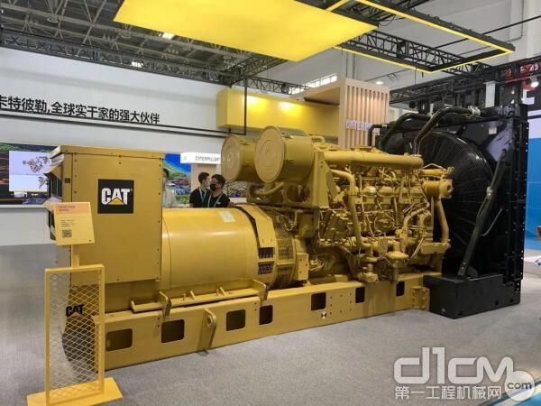 Cat® 3512B DGB™发电机组