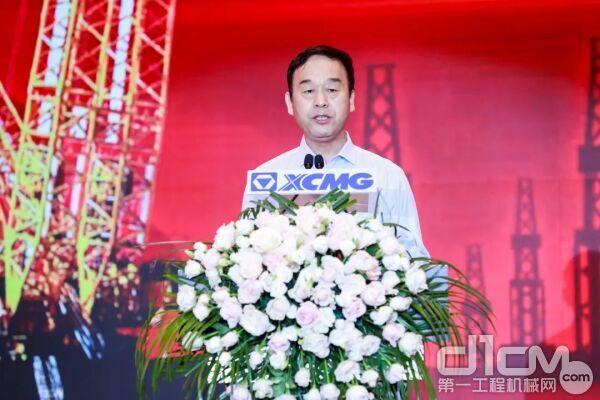 徐工机械副总裁、起重机械事业部总经理孙建忠