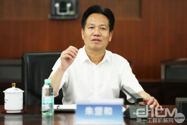 北投集团党委书记、董事长朱坚和