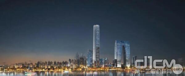 江苏第一高楼:苏州中南中心