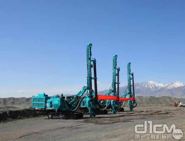 山河智能SWDE165A钻臂式潜孔钻机