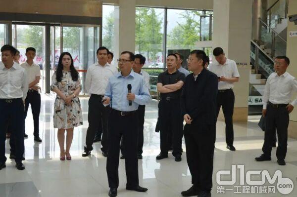 京能集团党委书记、董事长姜帆一行到访三一
