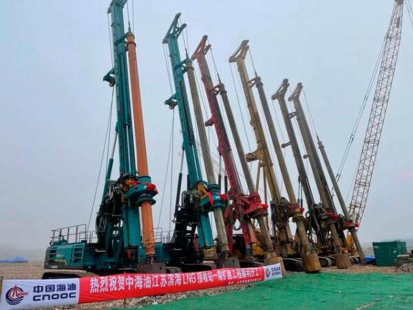 我国自主研发的全球最大容积LNG储罐开工建造