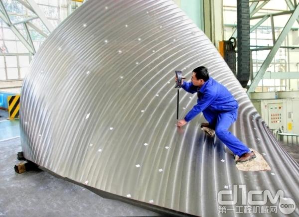 三峡水电站水轮机不锈钢叶片