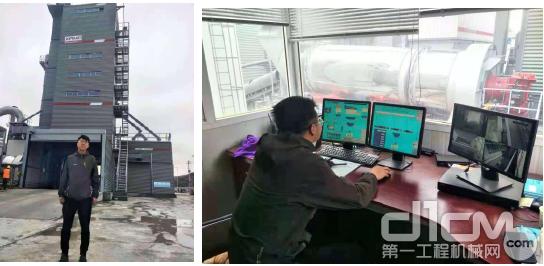 甘南公路局应急抢险保障中心拌合站项目负责人邱宏炜