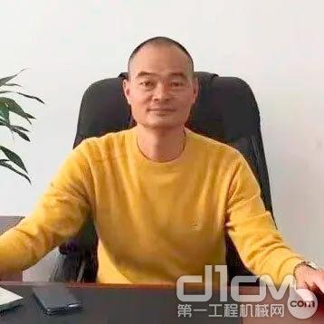 广西鸿铎机械设备租赁有限公司总经理吴民才