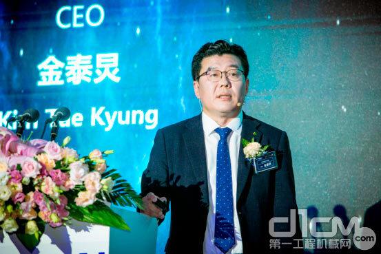 现代科茂升(中国)CEO金泰炅