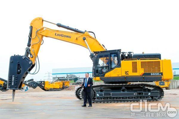 柳工CLG965EHD挖掘机
