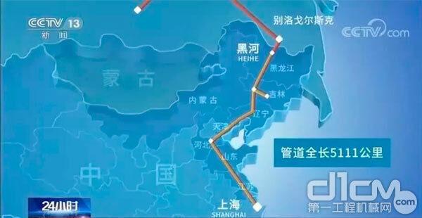 中俄东线天然气管道工程简介