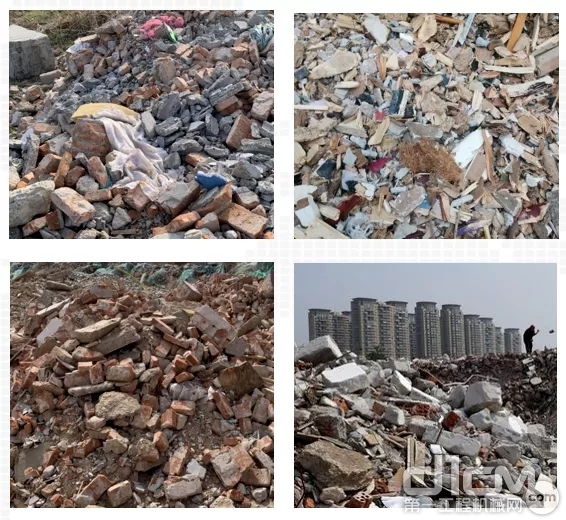 建筑垃圾围城,污染严重