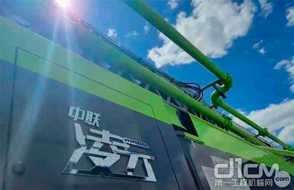 """中联重科""""凌云""""二代解放62米泵车"""