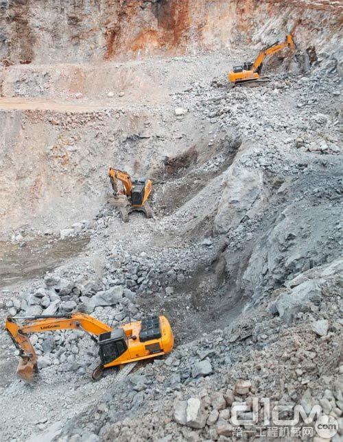 柳工挖掘机稳定可靠赢得客户认可