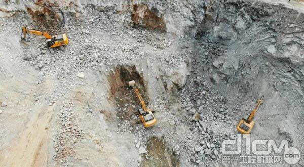柳工挖掘机的各方面表现都超出客户期望