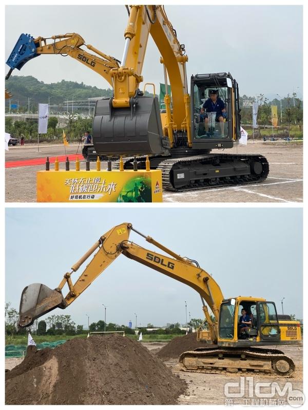 2021年好司机城市训练营挖掘机技能考核
