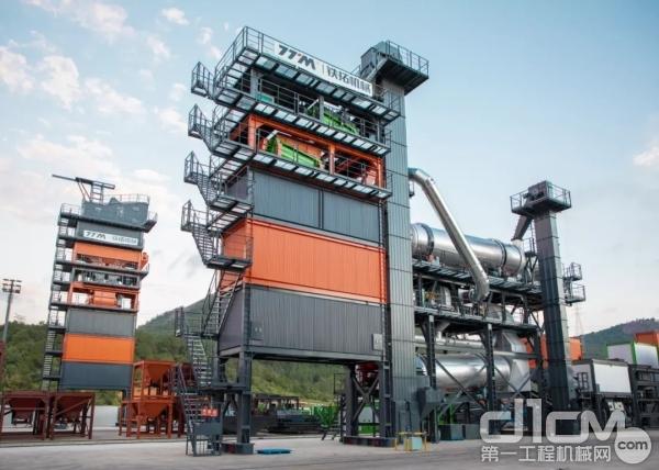铁拓机械环保型连续式沥青混合料成套搅拌设备