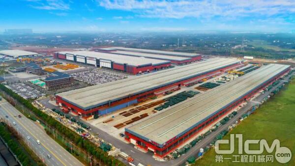 全球最大高端地下工程装备制造基地——铁建重工长沙第二产业园