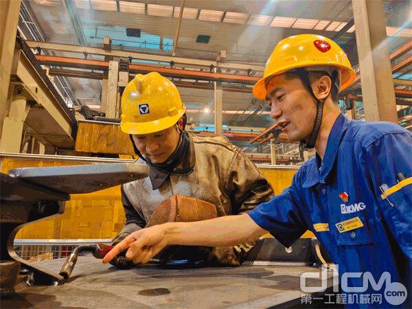 徐工铲运机械事业部结构分厂开展焊接培训