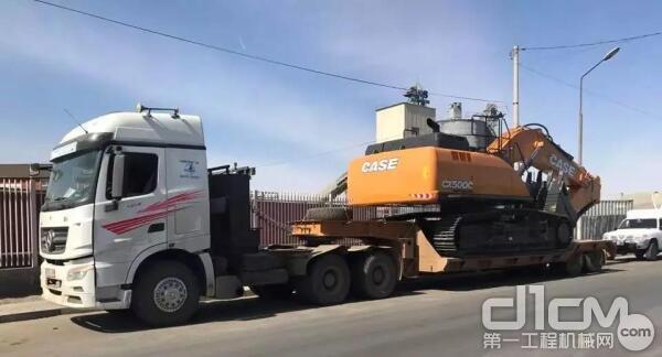 凯斯CX500C MASS挖掘机