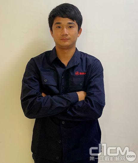 三一广东湛江服务工程师陈述祥