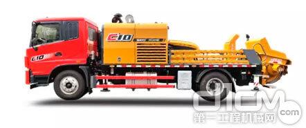 三一柴电双动力车载泵