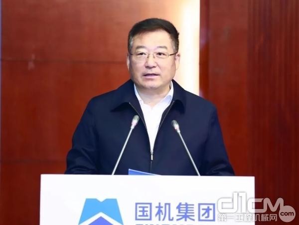国机集团党委书记、董事长张晓仑