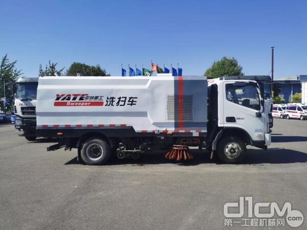 亚特TZ5088TXSBJFK 型洗扫车