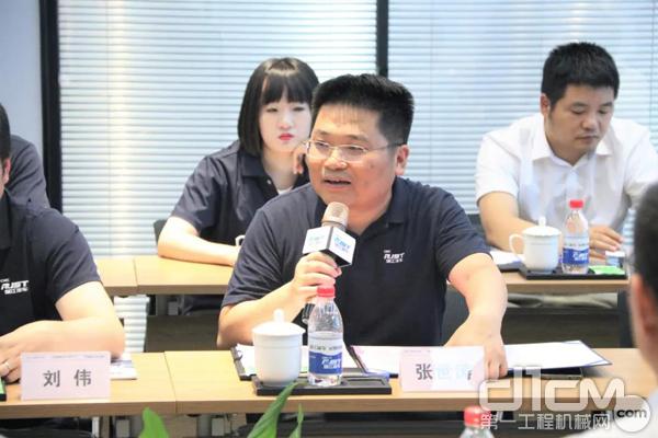 中集瑞江副总经理张世涛