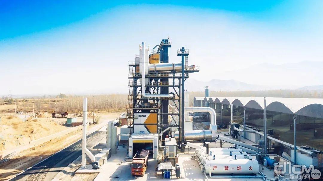山西徐工XARP系列整体式环保型沥青混合料厂拌热再生设备