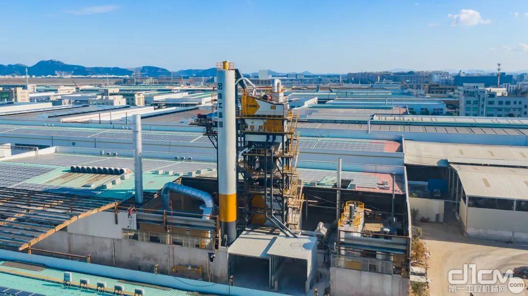 浙江徐工XARP系列整体式环保型沥青混合料厂拌热再生设备