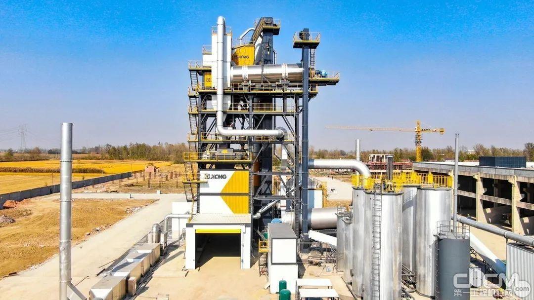 江苏徐工XARP系列整体式环保型沥青混合料厂拌热再生设备
