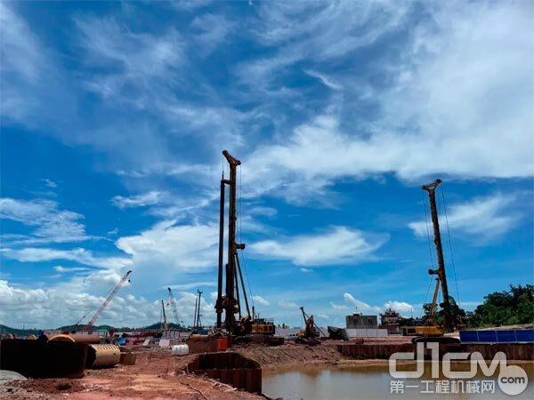广西龙门跨海特大桥,徐工旋挖钻来助力!