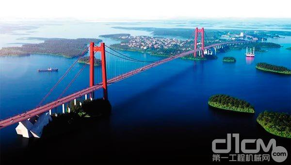 广西龙门跨海特大桥