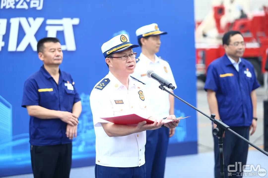 梁云红总队长讲话