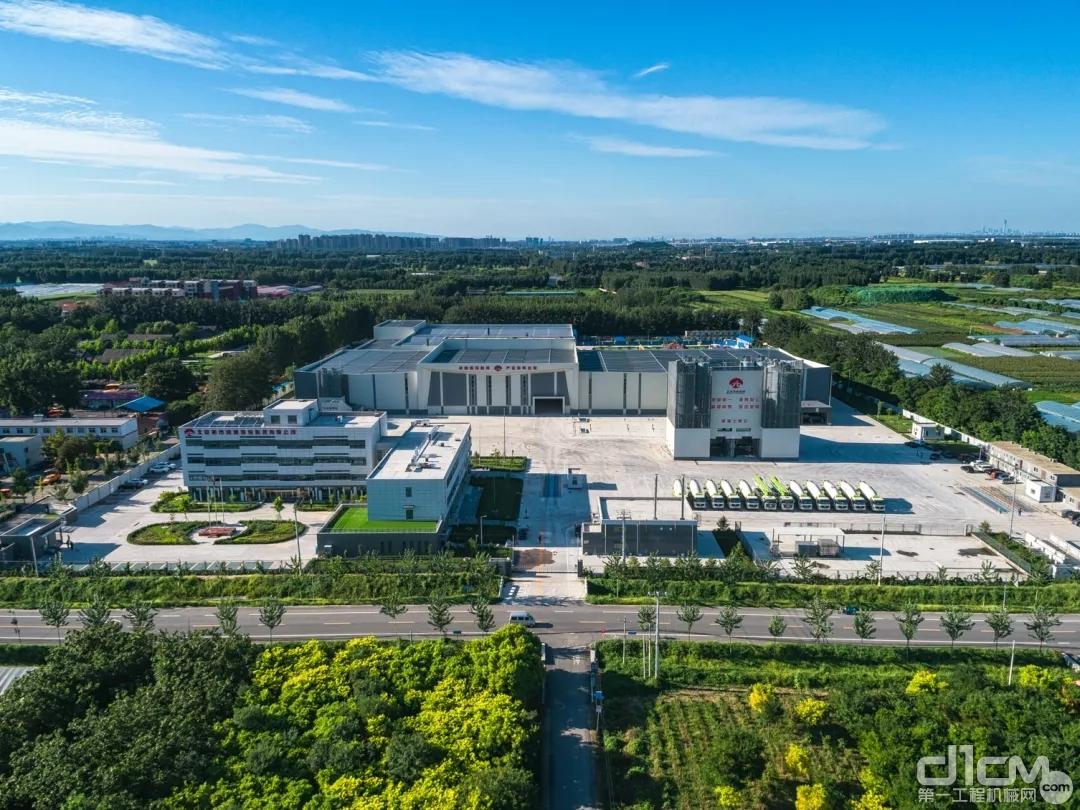 南方路机建筑垃圾资源化处理解决方案应用于北京大兴