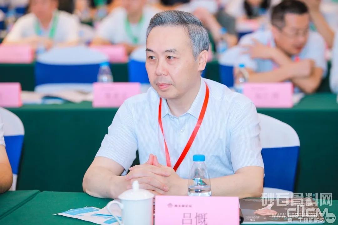 山特维克岩石处理技术中国区总经理吕慨