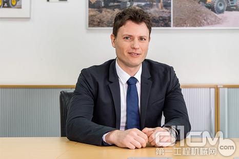 利勃海尔(中国)有限公司董事经理白瑞克(Patrick Schulz)