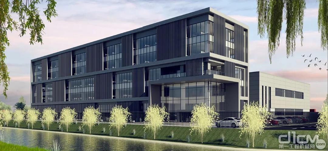 利勃海尔(中国)有限公司新总部外观示意图