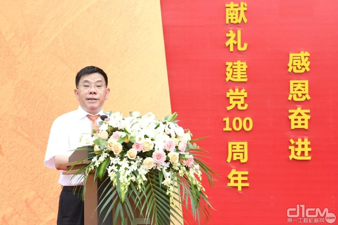 广西柳工集团机械有限公司党委书记、董事长曾光安