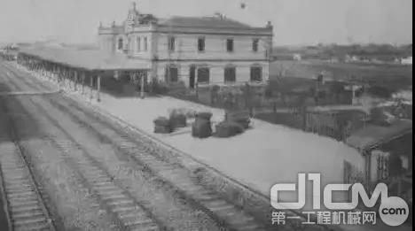 嘉兴火车站百年今夕对比