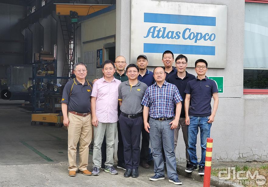 利星行机械发动机客户服务部俞青经理等一行参观交流
