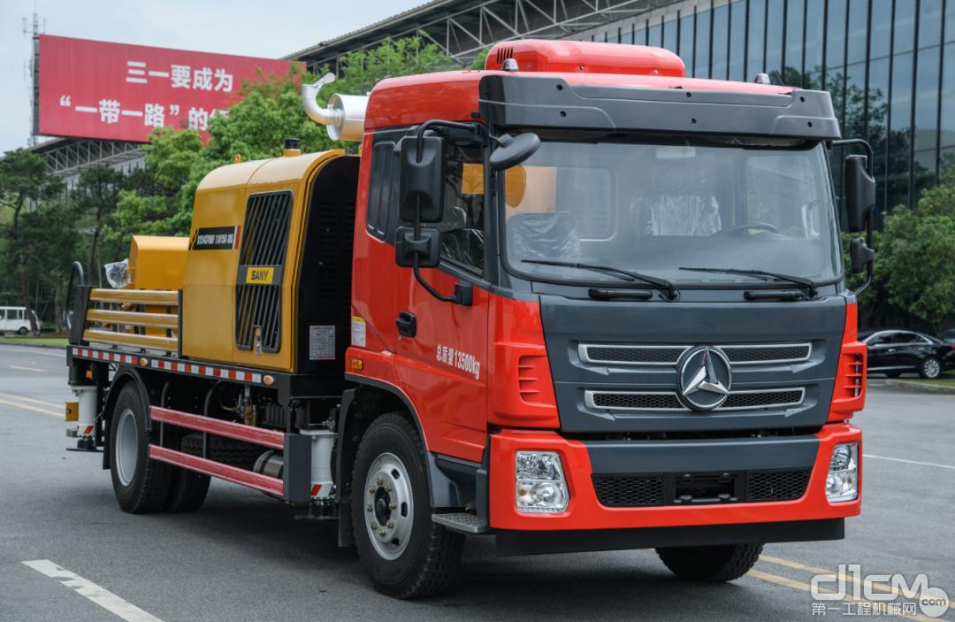 国六新品,节能先锋三一鸿运版11015车载泵