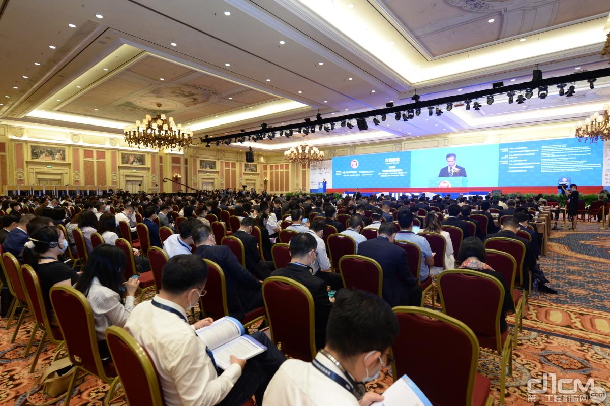 第12届国际基础设施投资与建设高峰论坛现场
